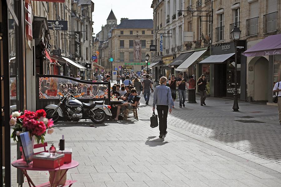 Les rues de Caen