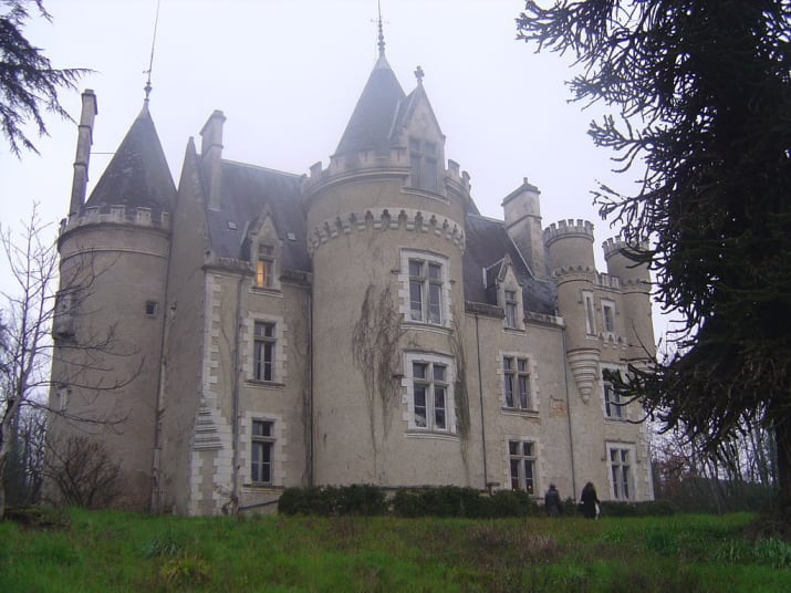 Photo du château de Fourgeret