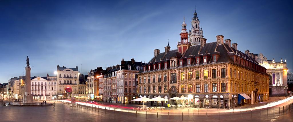 Beffroi et grand place de Lille