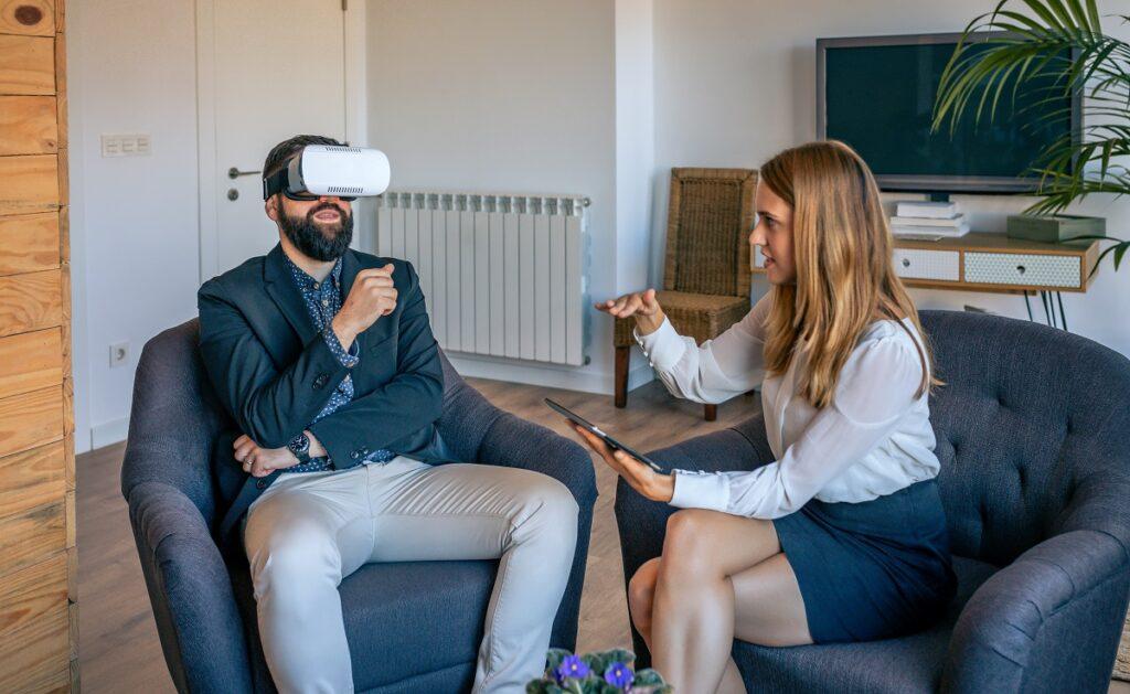 Rendez-vous avec casque de réalité virtuelle