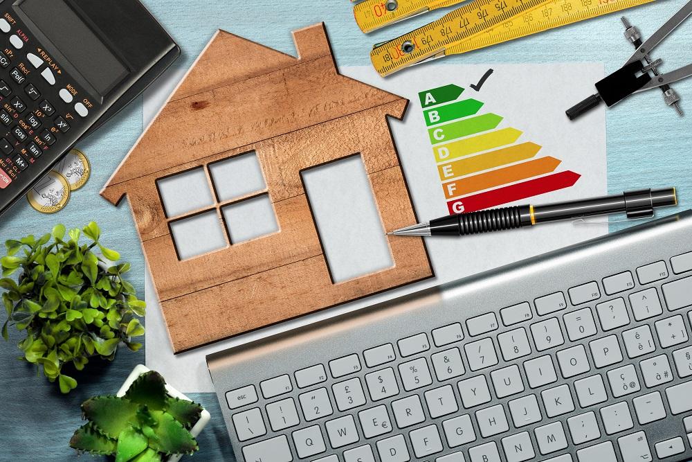 Diagnostique énergétique symbole maison