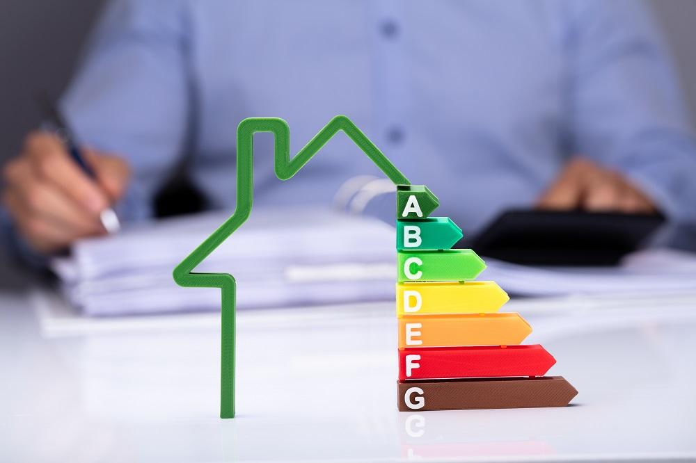 Maison symbole pour les diagnostiques énergétiques d'un bien à vendre